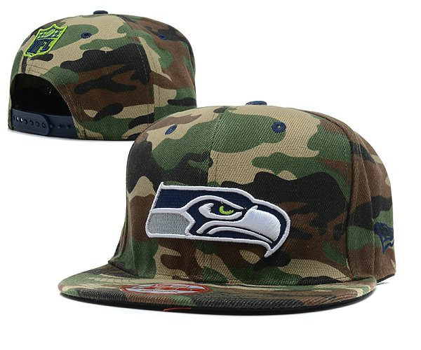 Seattle Seahawks NFL Snapback Hat SD 2311